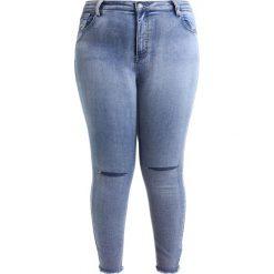 Rurki damskie: Glamorous Curve Jeans Skinny Fit mid stone wash