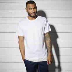 T-shirty męskie: Koszulka Reebok Layered Tee (BK5011)