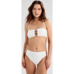 MICHAEL Michael Kors HIGH WAISTED BOTTOM Dół od bikini white. Białe bikini MICHAEL Michael Kors. Za 419,00 zł.