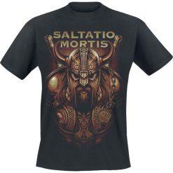 T-shirty męskie: Saltatio Mortis Heimdall T-Shirt czarny