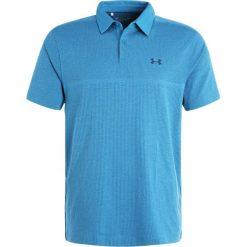 Under Armour THREADBORNE  Koszulka polo bayou blue. Niebieskie koszulki polo marki Under Armour, m, z materiału. W wyprzedaży za 174,50 zł.