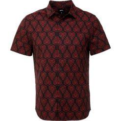 Koszule męskie na spinki: Burton Menswear London FEATHER Koszula black