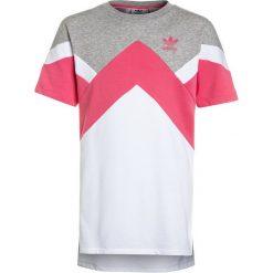 Sukienki dziewczęce: adidas Originals DRESS Sukienka letnia medium grey heather/real pink/white
