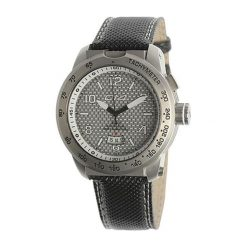 """Zegarki męskie: Zegarek """"E3.3"""" w kolorze czarno-srebrnym"""