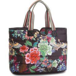 Torebka DESIGUAL - 18WAXFBA 4002. Szare torebki klasyczne damskie marki Desigual, l, z tkaniny, casualowe, z długim rękawem. W wyprzedaży za 209,00 zł.