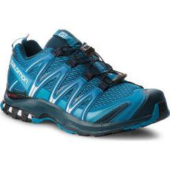 Buty SALOMON - Xa Pro 3D 404713 30 V0 Mykonos Blue/Reflecting Pond/White. Szare buty do biegania męskie marki Salomon, z gore-texu, na sznurówki, gore-tex. W wyprzedaży za 399,00 zł.