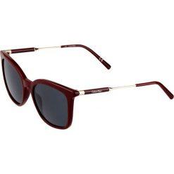 Okulary przeciwsłoneczne damskie: Calvin Klein Okulary przeciwsłoneczne bordeaux