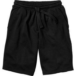 Szorty dresowe bonprix czarny. Czarne spodenki i szorty męskie marki New Balance, na jesień, z dresówki. Za 44,99 zł.