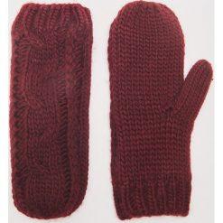 Rękawiczki z jednym palcem - Bordowy. Czerwone rękawiczki damskie marki House. Za 35,99 zł.