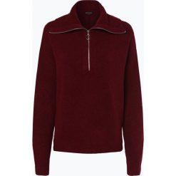Review - Sweter damski, różowy. Szare swetry klasyczne damskie marki Review, l, z tkaniny, z okrągłym kołnierzem. Za 179,95 zł.