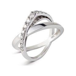 Sygnety męskie: Pierścionek Białe Złoto – złoto białe 750, Brylant 0,50ct…