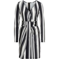Sukienki: Sukienka w paski bonprix czarno-biały w paski