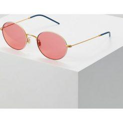 RayBan Okulary przeciwsłoneczne goldcoloured/white. Białe okulary przeciwsłoneczne damskie lenonki marki Ray-Ban. Za 639,00 zł.