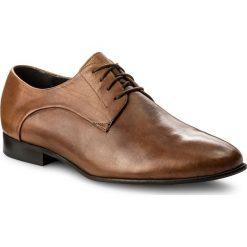 Półbuty NIK - 04-0387-01-5-04-02 Rudy. Brązowe buty wizytowe męskie Nik, ze skóry. W wyprzedaży za 199,00 zł.