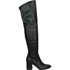 Kozaki - AB149914 VER. Czarne buty zimowe damskie marki Venezia, z materiału, na obcasie. Za 339,00 zł.