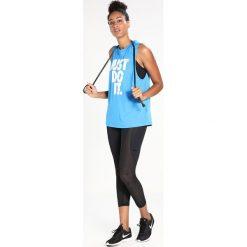 Nike Performance PRO HYPERCOOL CAPRI Rybaczki sportowe black/clear. Czarne legginsy marki Nike Performance, xl, z elastanu. Za 219,00 zł.