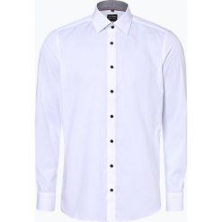 Olymp Level Five - Koszula męska łatwa w prasowaniu, czarny. Czarne koszule męskie na spinki OLYMP Level Five, m, z klasycznym kołnierzykiem. Za 249,95 zł.