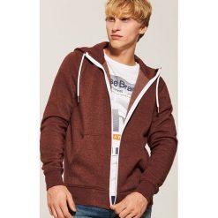 Rozpinana bluza basic - Bordowy. Czerwone bluzy męskie rozpinane marki KALENJI, m, z elastanu, z długim rękawem, długie. Za 79,99 zł.