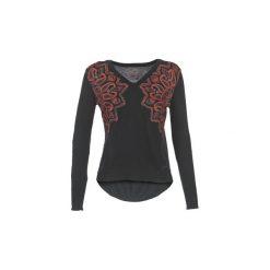 Swetry Desigual  REVINETTE. Czarne swetry klasyczne damskie Desigual, s. Za 263,20 zł.