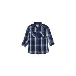 Koszula męska z kieszonką, rozpinana, Z KOŁNIERZEM casual. Szare koszule męskie marki TXM, m, z klasycznym kołnierzykiem. Za 29,99 zł.