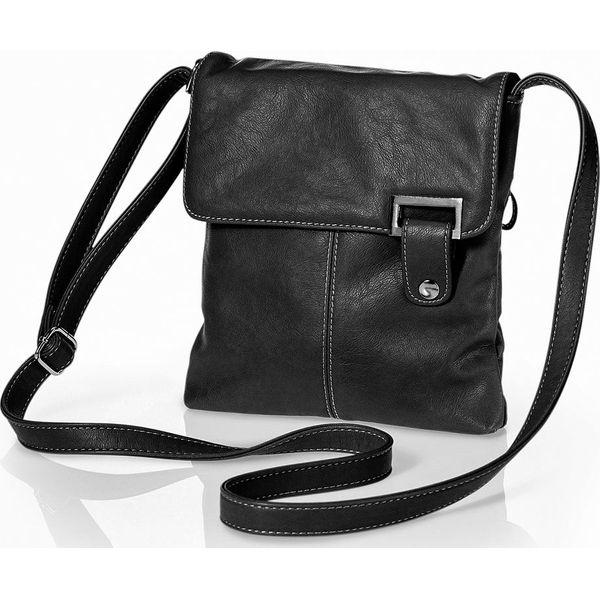 4bd7bbc932b71 Torebka na ramię bonprix czarny - Czarne torebki klasyczne damskie bonprix