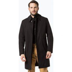 Płaszcze męskie: Bugatti - Męski płaszcz funkcyjny, czarny