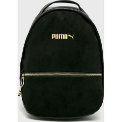 Puma - Plecak. Czarne plecaki damskie Puma, z materiału. Za 269,90 zł.