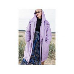Płaszcz longline liliowy ocieplany. Czerwone płaszcze damskie pastelowe marki Cropp, na zimę, l. Za 419,00 zł.