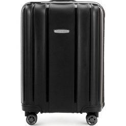 Walizka kabinowa 56-3T-731-10. Czarne walizki marki Wittchen, małe. Za 239,00 zł.