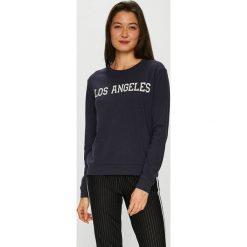 Jacqueline de Yong - Bluza. Czarne bluzy z nadrukiem damskie marki Only Play, l, z bawełny, bez kaptura. Za 69,90 zł.