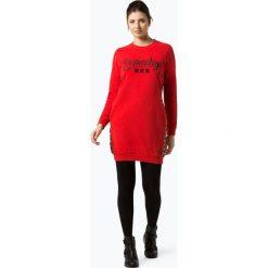 Superdry - Sukienka damska, czerwony. Szare sukienki z falbanami marki Superdry, l, z nadrukiem, z bawełny, z okrągłym kołnierzem. Za 379,95 zł.