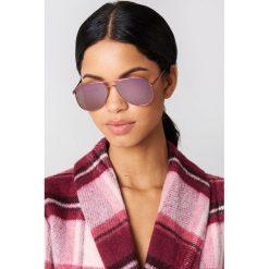 Okulary przeciwsłoneczne damskie: Le Specs Okulary przeciwsłoneczne Kingdom – Pink
