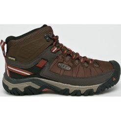 Keen - Buty Targhee Exp Mid. Brązowe buty trekkingowe męskie marki Keen, z materiału, outdoorowe. W wyprzedaży za 399,90 zł.