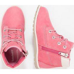 Timberland POKEY PINE 6IN Botki sznurowane pink. Czerwone buty zimowe damskie marki Timberland, z gumy. Za 339,00 zł.