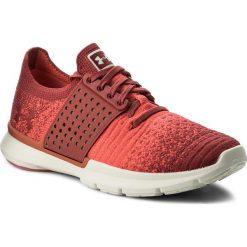 Buty UNDER ARMOUR - Ua W Speedform Slingwrap Fade 1298673-601 Red. Czerwone buty do biegania damskie Under Armour, z gumy. W wyprzedaży za 289,00 zł.