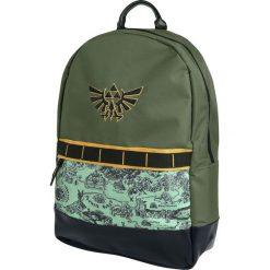The Legend Of Zelda Hyrule Map Plecak zielony. Zielone plecaki męskie The Legend Of Zelda, z aplikacjami. Za 164,90 zł.