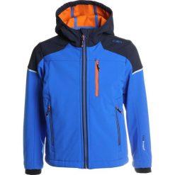 CMP BOY FIX HOOD JACKET Kurtka Softshell zaffiro. Niebieskie kurtki chłopięce przeciwdeszczowe CMP, z elastanu. Za 209,00 zł.