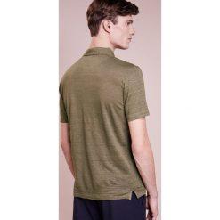Koszulki polo: 120% Lino UOMO CORTA Koszulka polo military green