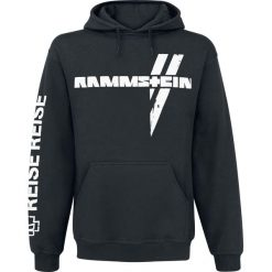 Rammstein White Cross Bluza z kapturem czarny. Czarne bejsbolówki męskie Rammstein, xl, z napisami, z kapturem. Za 224,90 zł.