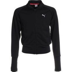 Bluzy chłopięce rozpinane: Puma TRAINING HOODY  Bluza rozpinana black