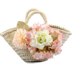 Torebki klasyczne damskie: Torebka w kolorze beżowym – (S)30 x (W)18 x (G)20 cm