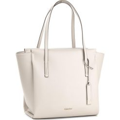 Shopper bag damskie: Torebka CALVIN KLEIN BLACK LABEL – Frame Large Shopper K60K603977 000
