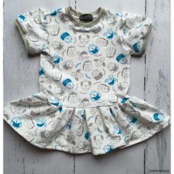Sukienki niemowlęce: Sukieneczka w sowy