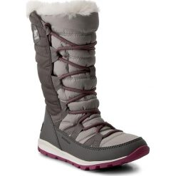 Buty zimowe damskie: Śniegowce SOREL - Whitney Lace NL2742 Quarry 052