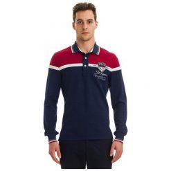 Galvanni Koszulka Polo Męska Harau Xl, Ciemnoniebieski. Czarne koszulki polo GALVANNI, m, z materiału, z długim rękawem. W wyprzedaży za 269,00 zł.
