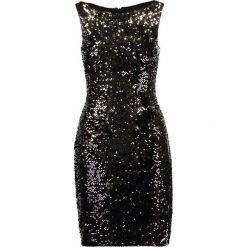 Sukienki hiszpanki: J.LINDEBERG CALLIE  Sukienka koktajlowa gold