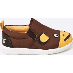 Emu Australia - Tenisówki dziecięce. Brązowe buty sportowe chłopięce EMU Australia, z materiału. W wyprzedaży za 89,90 zł.
