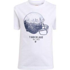 T-shirty chłopięce: Timberland KURZARM BASEBALL Tshirt z nadrukiem weiß