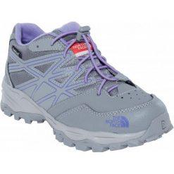The North Face Buty Jr Hedgehog Hiker Wp Q-Silver Grey/Paisley Purple 33,5. Niebieskie buciki niemowlęce chłopięce marki Born2be, z materiału, z okrągłym noskiem, na obcasie. W wyprzedaży za 169,00 zł.