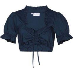 Bluzki damskie: Bluzka pod sukienkę ludową bonprix ciemnoniebieski